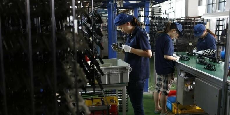 La production industrielle faiblit en Chine en novembre