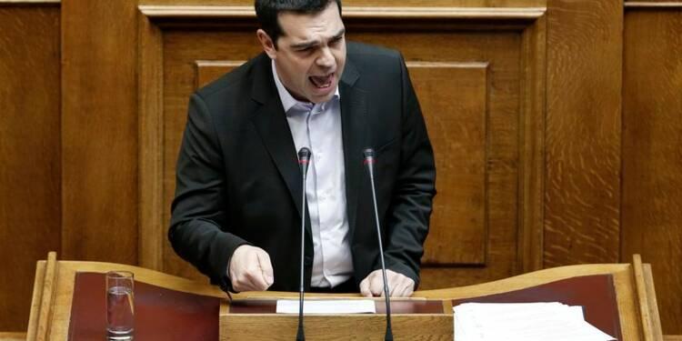 """Alexis Tsipras dénonce les """"initiatives unilatérales"""" de l'UE"""