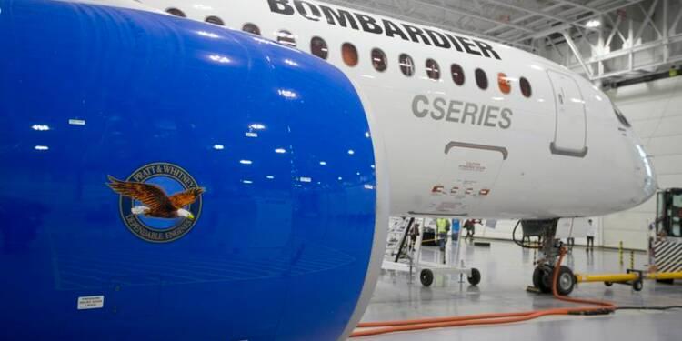 Vol d'essai pour le CSeries 300 de Bombardier