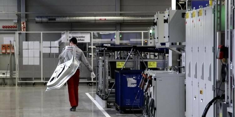 Légère hausse de la production industrielle dans la zone euro