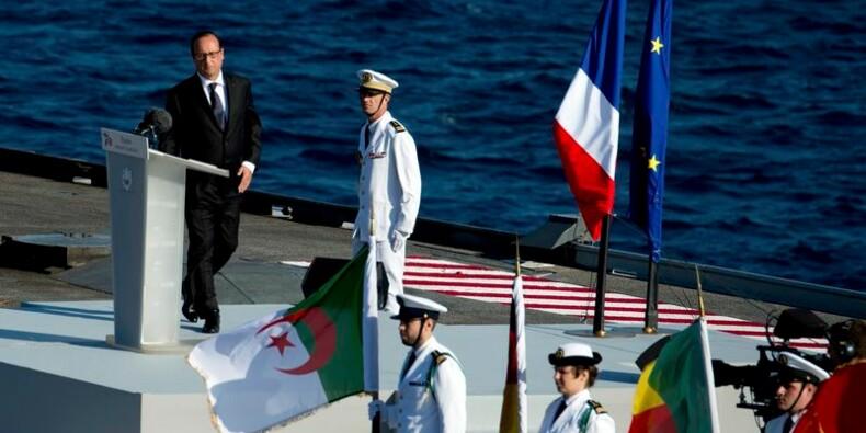 """François Hollande veut """"rendre au Sud"""" ce qu'il a """"donné en 1944"""""""