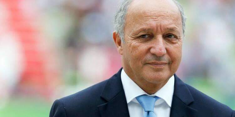 Pas d'intervention française en Syrie pour le moment, dit Fabius