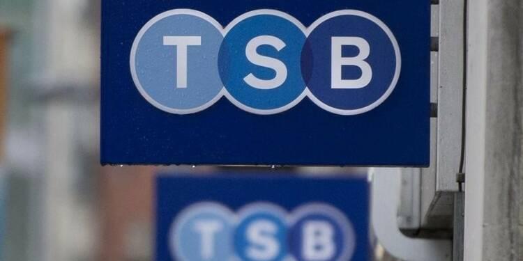 Lloyds Banking va céder 11,5% supplémentaires de TSB