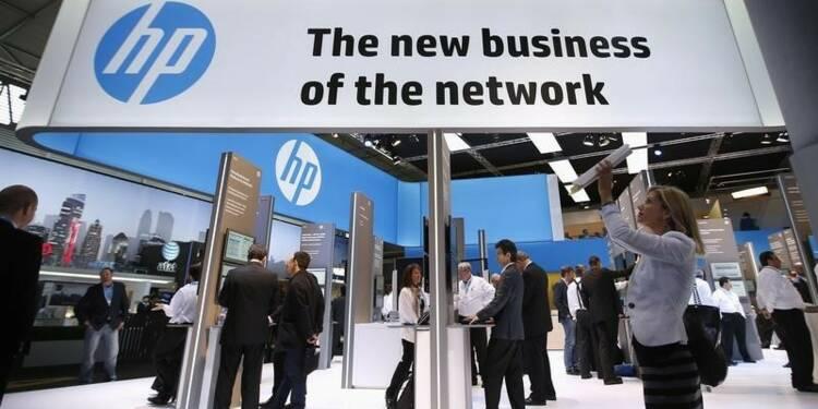 Hewlett-Packard souffre de la hausse du dollar