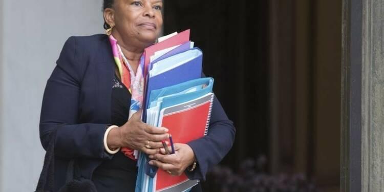 Christiane Taubira riposte aux propos de l'UMP Gérald Darmanin