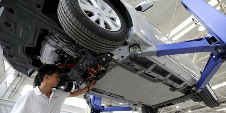 Le chinois BAIC Motor veut lever 1,42 milliard de dollars
