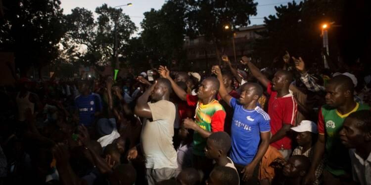 Reprise des manifestations contre Blaise Compaoré à Ouagadougou