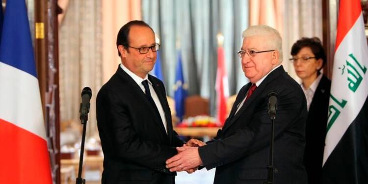 Hollande promet d'aider l'Irak à lutter contre l'Etat islamique