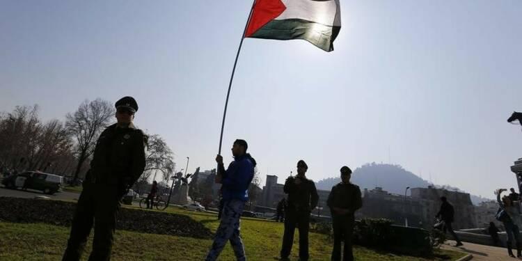 Dépôt de la résolution socialiste sur la Palestine