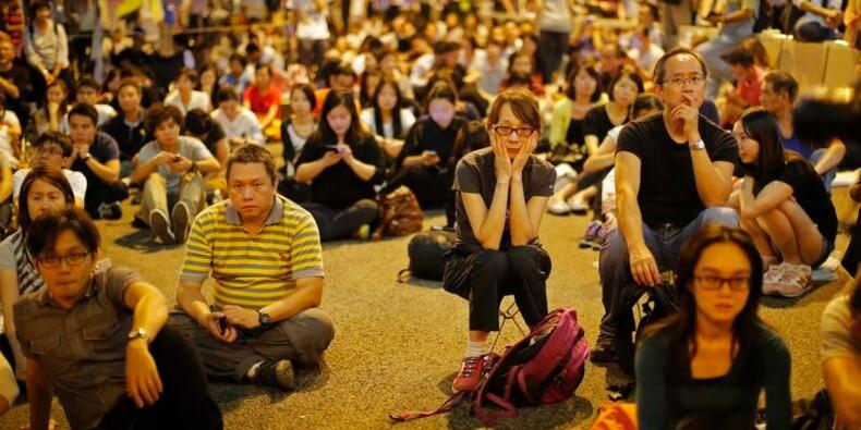 Le dialogue tourne court à Hong Kong