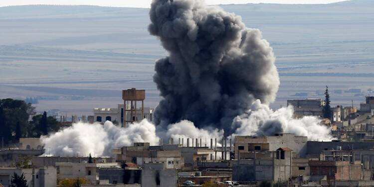 Un millier de djihadistes tués dans les raids US en Syrie