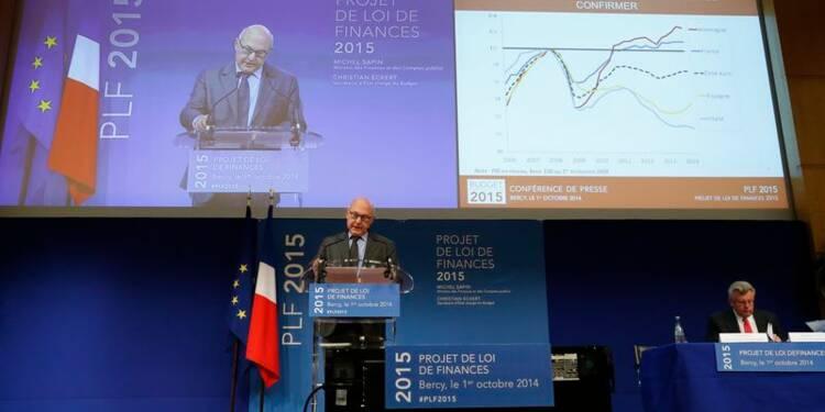 La croissance, priorité du budget 2015, devant le déficit