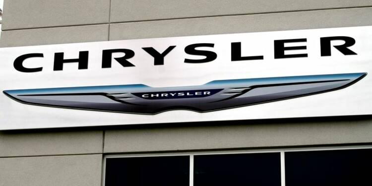 Chrysler rappelle plus de 900.000 véhicules