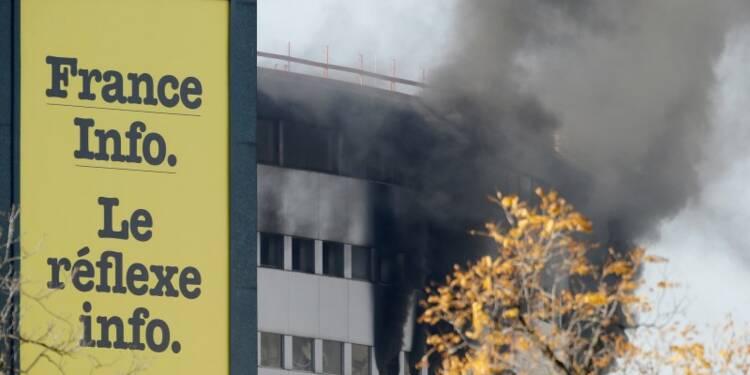 Un incendie vite maîtrisé à la Maison de la radio