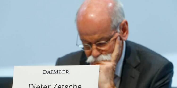 Les ventes de Mercedes dopent le bénéfice trimestriel de Daimler