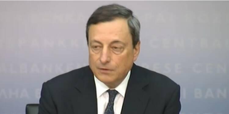 La mise en garde de Mario Draghi a fait baisser l'euro
