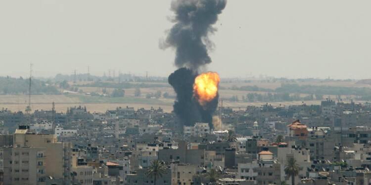 Quatre enfants tués par les bombardements israéliens à Gaza