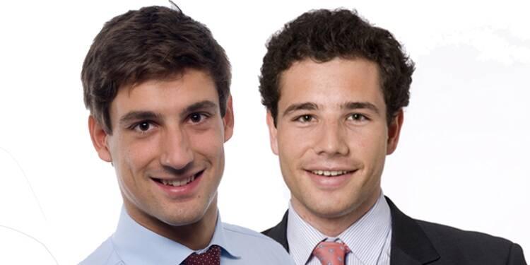 Jacques Tiberghien et Vincent Metzger : Ils vendent les chaussettes du pape sur Internet