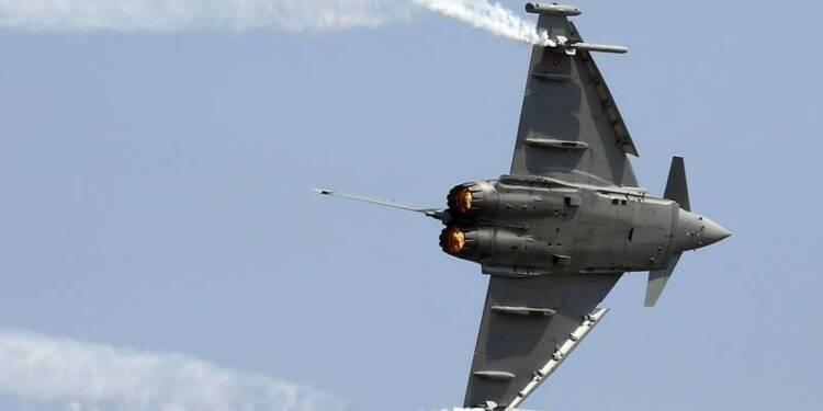 Problème de composant sur l'Eurofighter, dit l'Autriche