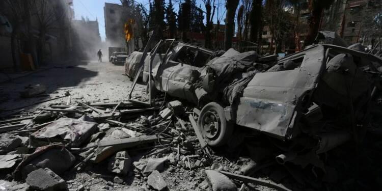 L'armée syrienne à l'offensive après quatre ans de conflit