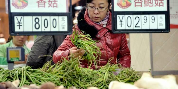 Faible inflation en Chine, le risque de déflation s'accroît