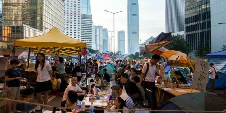 Veillée d'armes à Hong Kong, avant de difficiles négociations