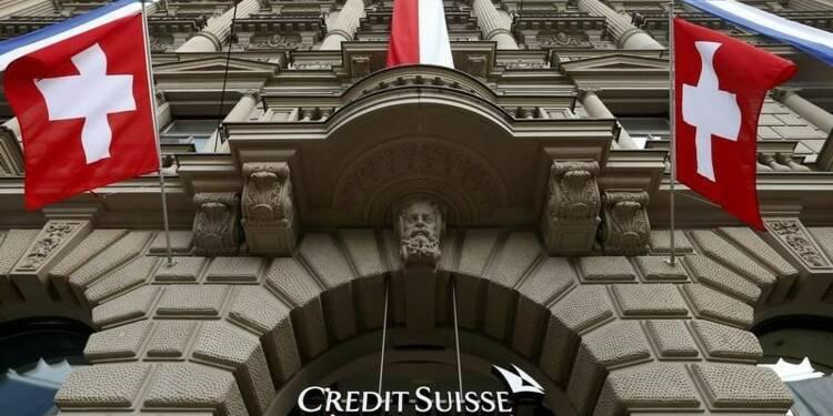Crédit Suisse reste prudent pour l'avenir