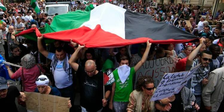 Manifestation pro-palestinienne sans incident à Paris