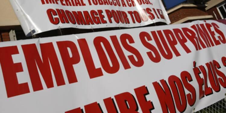 Le taux de chômage bondit à 8,7% en France, au plus haut depuis deux ans et demi