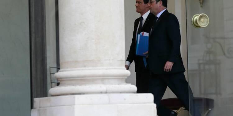 Fort regain de popularité pour Hollande et Valls selon BVA