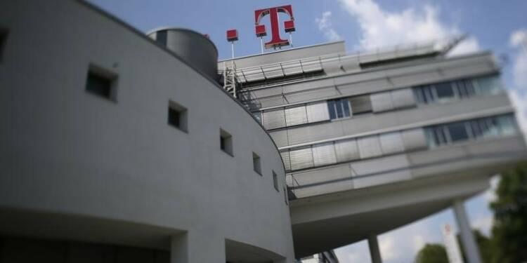Recul de l'excédent brut d'exploitation de Deutsche Telekom