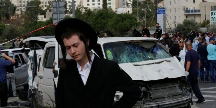 Attaques à la voiture bélier à Jérusalem et en Cisjordanie