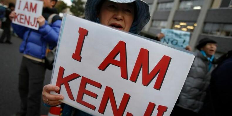 Tokyo condamne l'exécution d'un otage japonais par l'EI