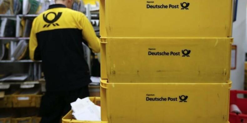 Deutsche Post confiant pour 2014 malgré le ralentissement