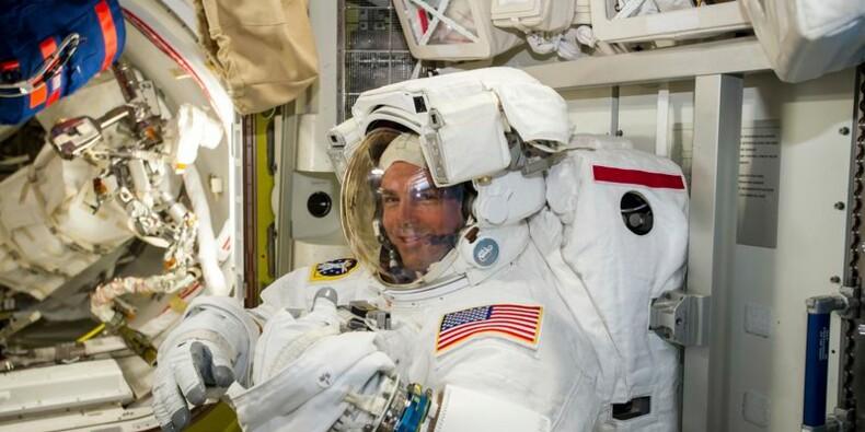 Sortie dans l'espace pour deux astronautes de l'ISS