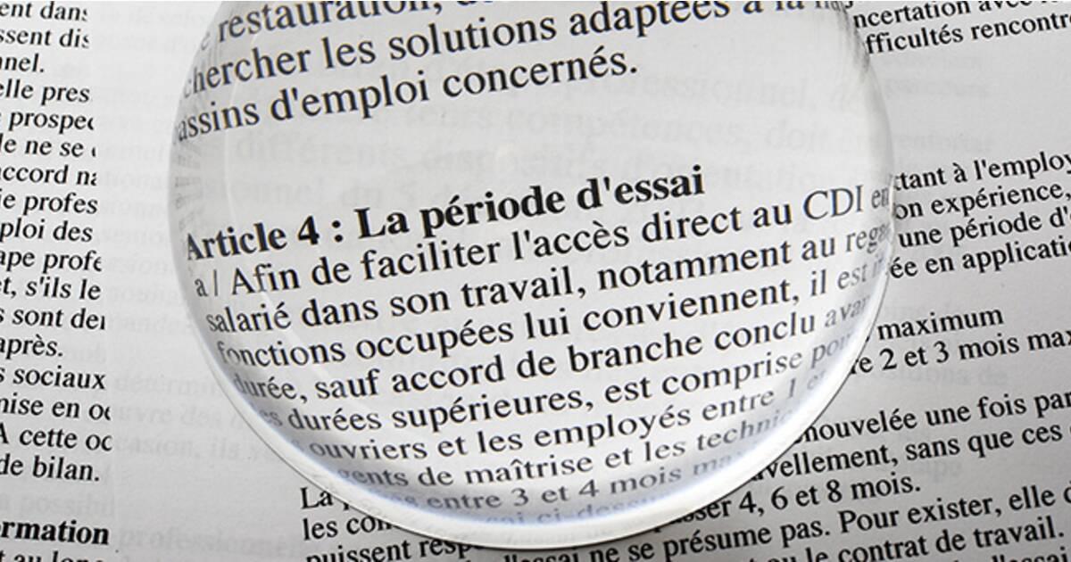 Plus D Une Embauche Sur Dix Avorte Avant La Fin De La Periode D