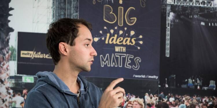 """Alexandre Malsch, cofondateur de Melty : """"J'ai failli tout arrêter mais un mentor m'a dit : tu vas y arriver, bosse ! """""""