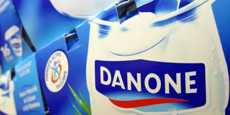 Le titre Danone porté par l'effet Barclays