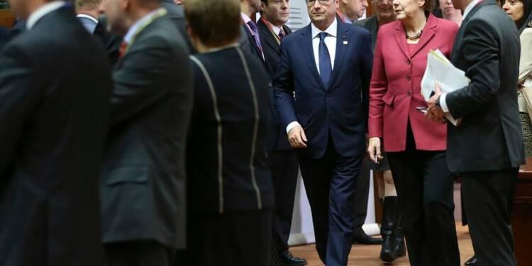 Hollande donne la priorité à la croissance, Merkel à l'équilibre