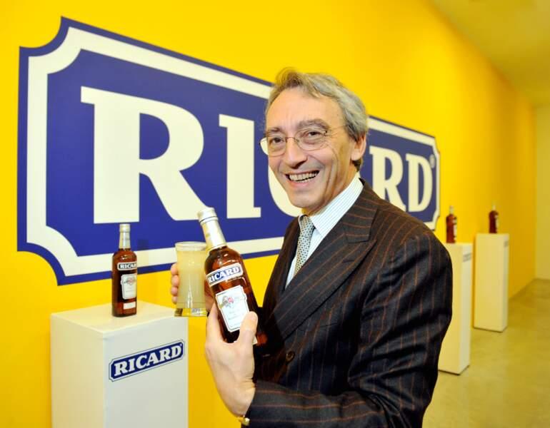 Le CV de Pierre Pringuet, DG de Pernod Ricard