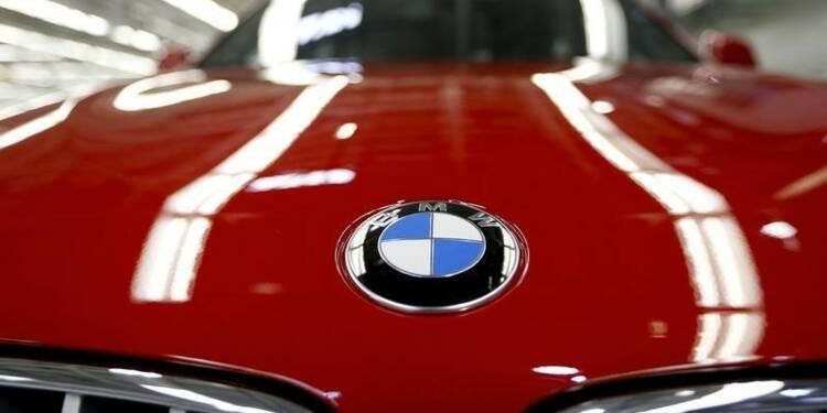 BMW a enregistré une hausse de 7% de ses ventes en janvier