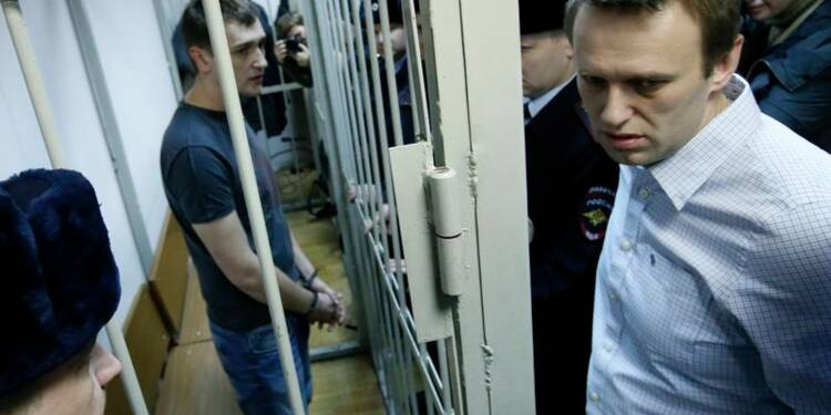 Prison avec sursis pour l'opposant russe Alexeï Navalny