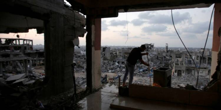 Accord sur la reconstruction dans la bande de Gaza