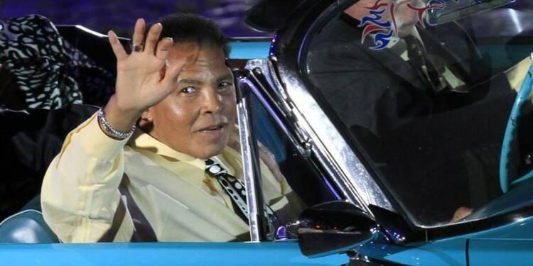 Mohamed Ali est sorti de l'hôpital