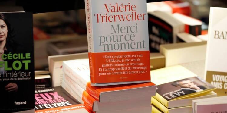 Démarrage record pour le livre de Trierweiler sur Hollande
