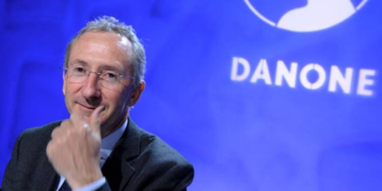 Le titre Danone décolle après les propos de Riboud et une note d'analyste