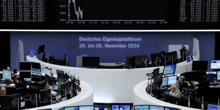 Les marchés européens se tendent, doutes sur la BCE