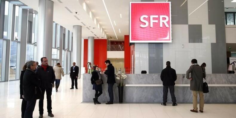 SFR affiche un résultat d'exploitation sur neuf mois en forte baisse