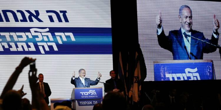 Large victoire de Netanyahu aux législatives israéliennes