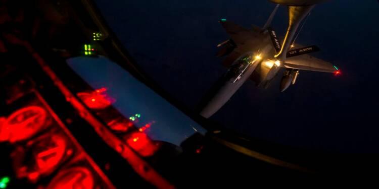 Nouveaux raids aériens contre l'Etat islamique en Syrie